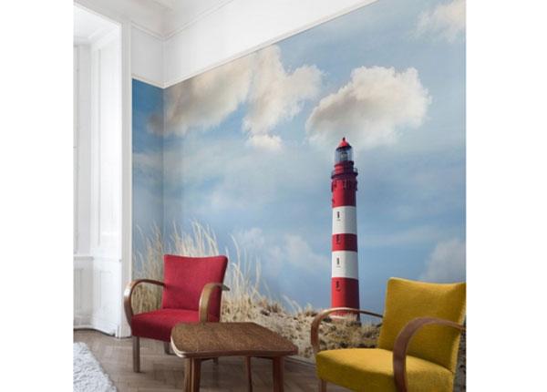Fliis fototapeet Lighthouse in the dunes