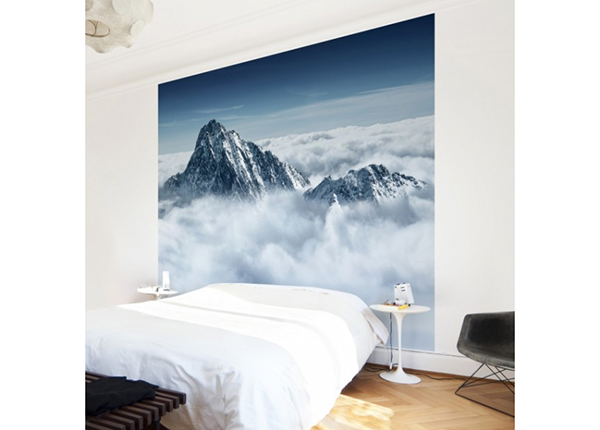 Fliis fototapeet The Alps above the clouds