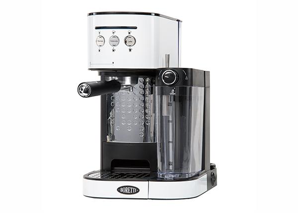 Espressomasin piimavahustajaga Boretti MR-135905