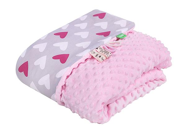 Beebitekk Lulando Minky roosa 100x140 cm GB-135931