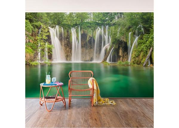 Fliis fototapeet Plitvice Lakes Waterfalls