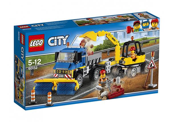 LEGO City Tänavapuhastaja ja ekskavaator RO-137478