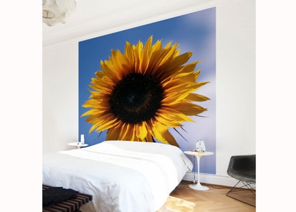 Fliis fototapeet Sunflower Trio Part 1