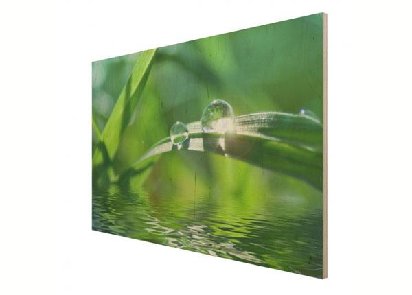Seinapilt puidul Green Ambiance II ED-137812