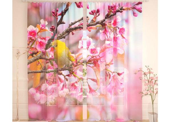 Tüllkardinad Yellow Bird 290x260 cm AÄ-138226