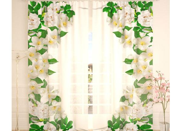 Tüllkardinad A Wild Rose Window 290x260 cm AÄ-138237