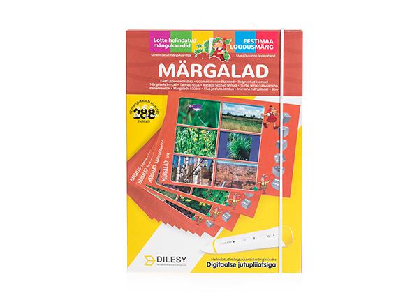 Helindatud mängukaardid Lotte loodusmäng: märgalad DL-138313