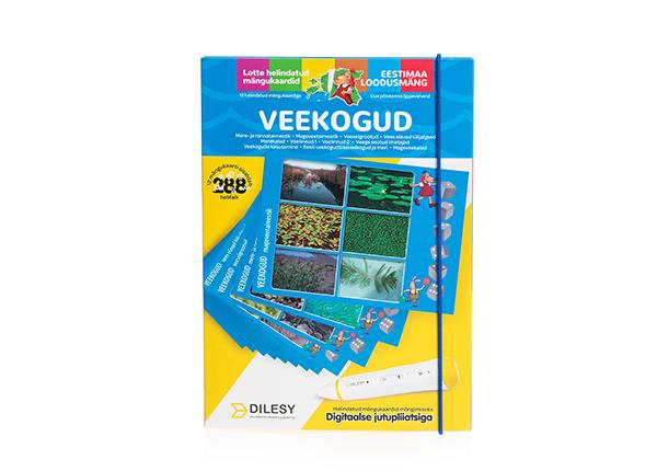 Helindatud mängukaardid Lotte loodusmäng: veekogud DL-138320