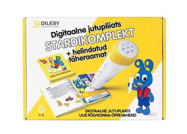 Digitaalne jutupliiats Jänku-Jussi täheraamat stardikomplekt DL-138323