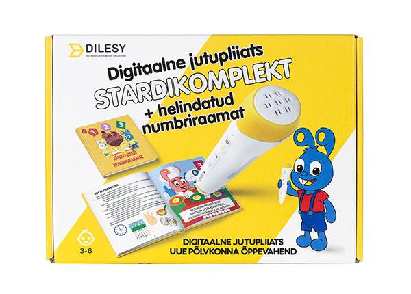 Digitaalne jutupliiats Jänku-Jussi numbriraamat stardikomplekt DL-138326
