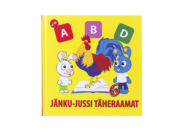 Helindatud Jänku-Jussi täheraamat DL-138328