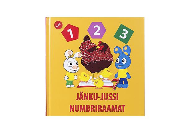 Helindatud Jänku-Jussi numbriraamat DL-138330