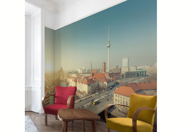 Fliis fototapeet Berlin in the morning