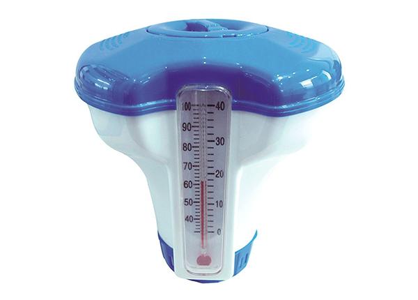 Ujuvdosaator kloori tablettidele + termomeeter SG-138656