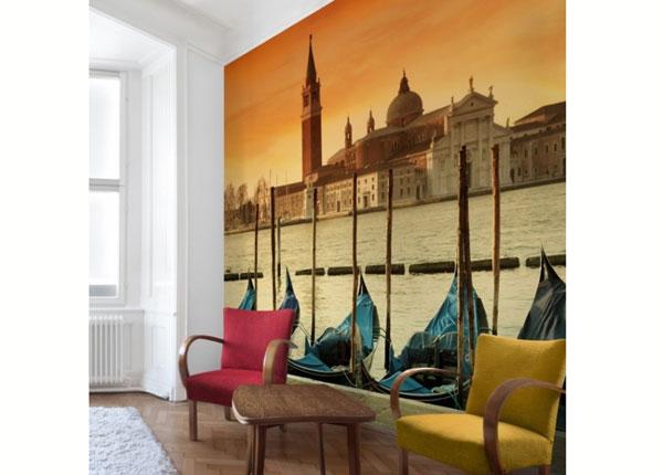 Fliis fototapeet Gondolas in Venice