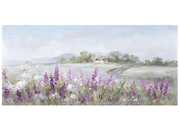 Õlimaal Maastik/lavendlid 70x140 cm EV-139167
