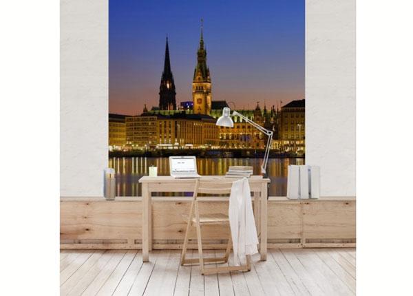 Fliis fototapeet Hamburg Panorama ED-139269