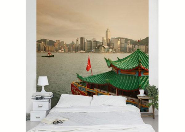 Fliis fototapeet Hong Kong ED-139283