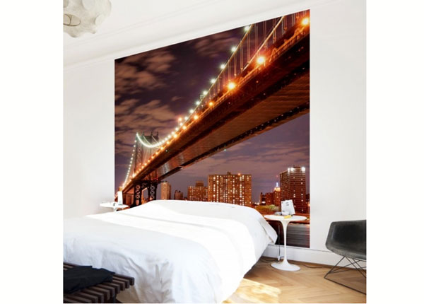 Fliis fototapeet Manhattan Bridge ED-139334