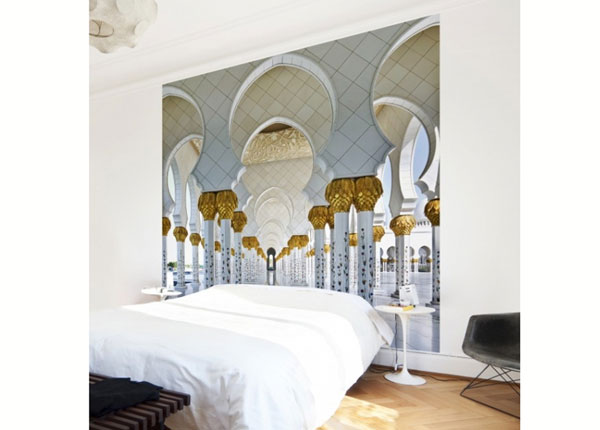 Fliis fototapeet Mosque in Abu Dhabi ED-139341