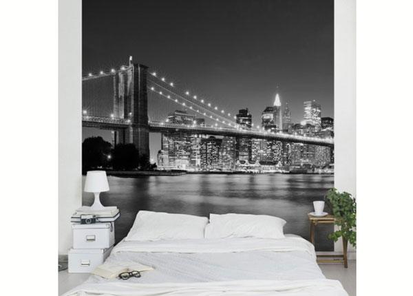 Fliis fototapeet Nighttime Manhattan Bridge II ED-139355