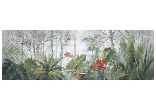 Õlimaal Puud/palmilehed 50x150 cm EV-139370