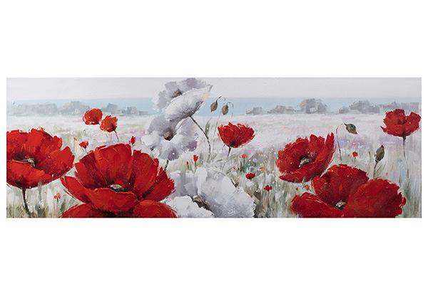 Õlimaal Punased moonid 50x150 cm EV-139374
