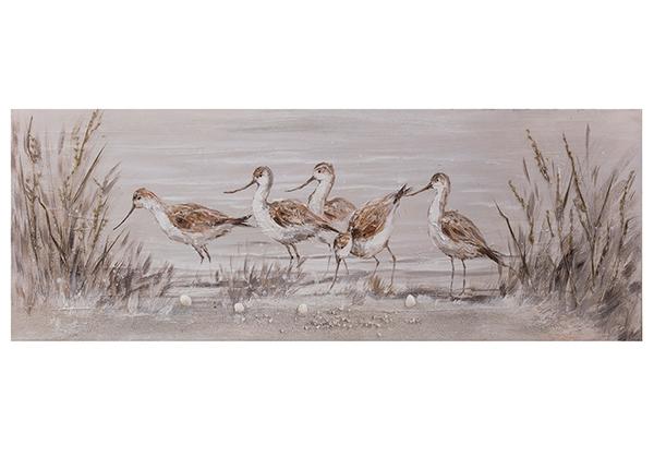 Õlimaal Linnud kõrkjates 50x150 cm EV-139378
