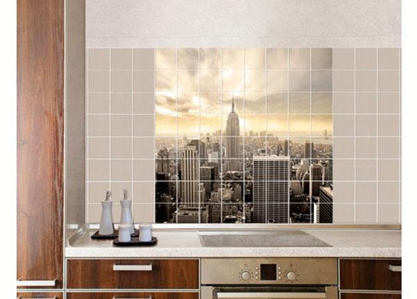 Kleebised seinaplaatidele, Manhattan Dawn, 120x120 cm