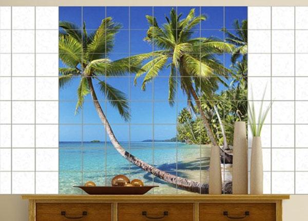 Kleebised seinaplaatidele Beach of Thailand 120x120 cm