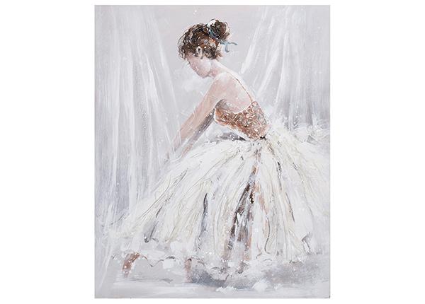 Õlimaal Naine valges kleidis 80x100 cm EV-139484