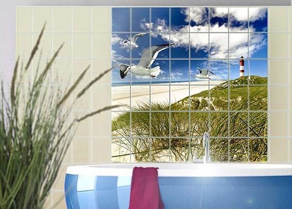 Kleebised seinaplaatidele Dune Breeze 120x120 cm