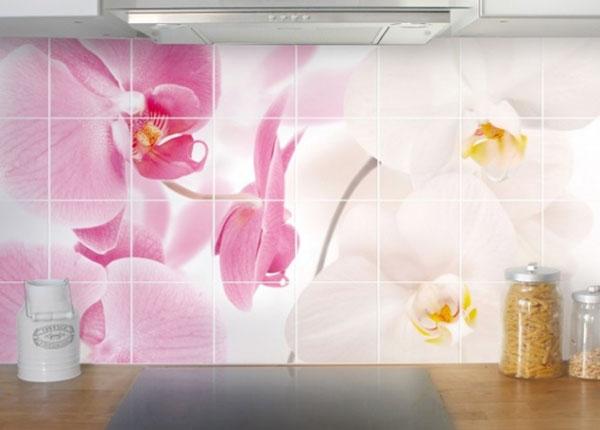 Kleebised seinaplaatidele Delicate Orchids 60x120 cm