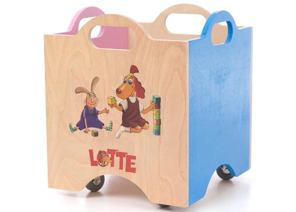 Ratastel mänguasjakast Lotte ON-139584