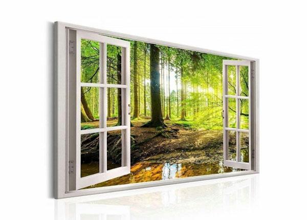 Seinapilt Forest view window 120x80 cm ED-139717