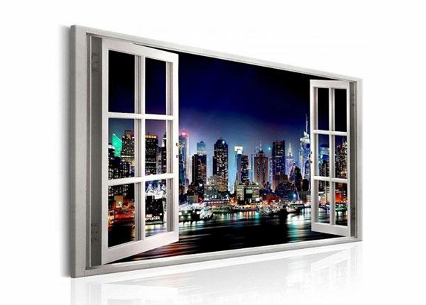 Seinapilt New York view window 120x80 cm ED-139719