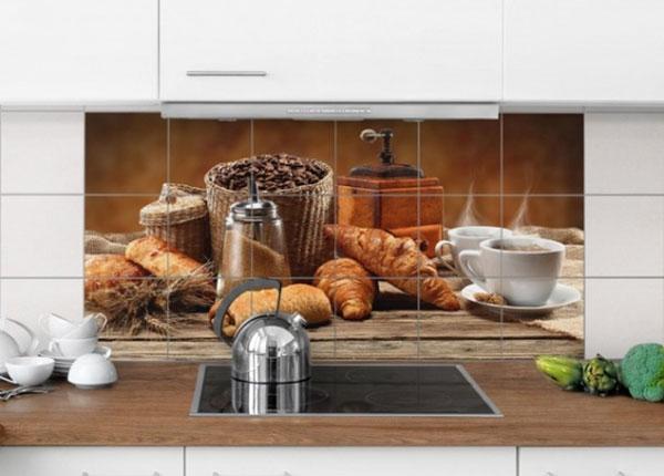 Kleebised seinaplaatidele Breakfast table 60x120 cm