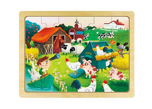 Puidust pusle Lõbus farm UP-140139