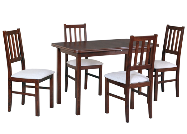 Pikendatav söögilaud + 4 tooli CM-140525