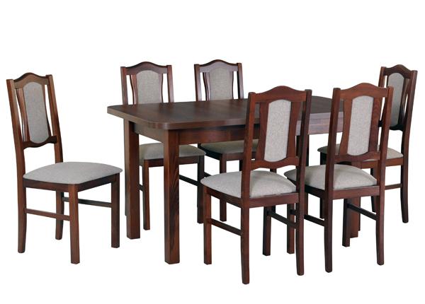Pikendatav söögilaud + 6 tooli CM-141046