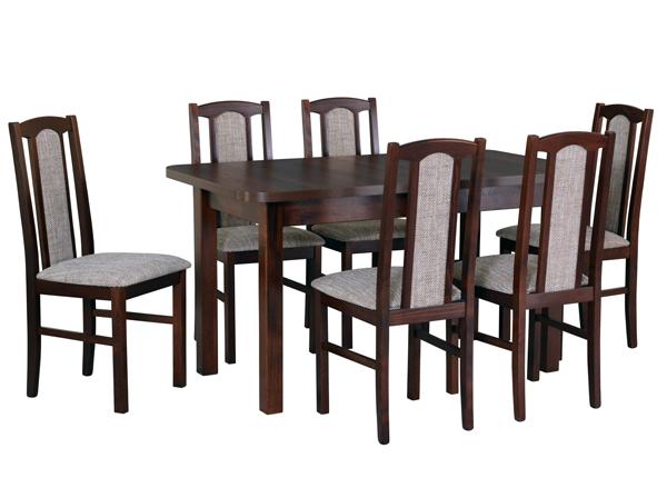 Pikendatav söögilaud + 6 tooli CM-141068