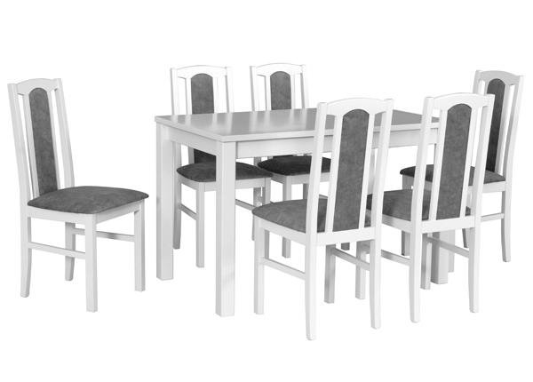 Pikendatav söögilaud + 6 tooli CM-141107