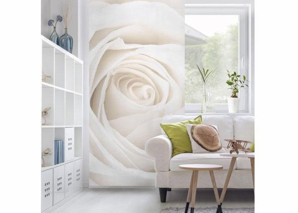 Paneelkardin Pretty White Rose 250x120 cm ED-141211