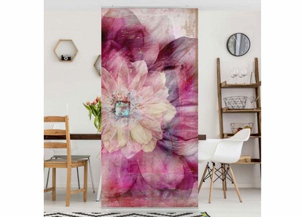 Paneelkardin Grunge Flower 250x120 cm ED-141212