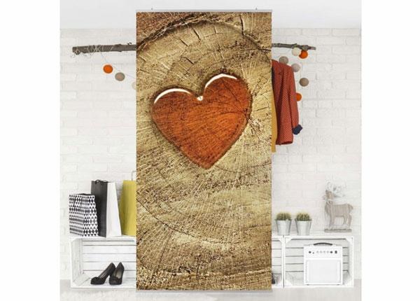 Paneelkardin Natural Love 250x120 cm ED-141225