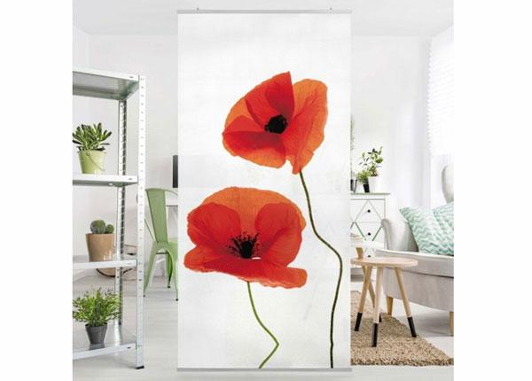 Paneelkardin Charming Poppies 250x120 cm ED-141235