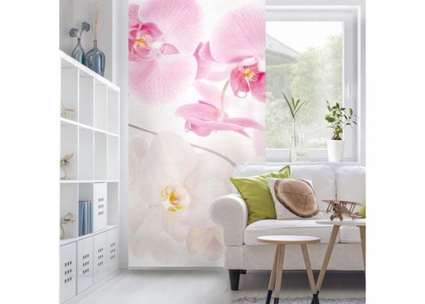 Paneelkardin Delicate Orchids