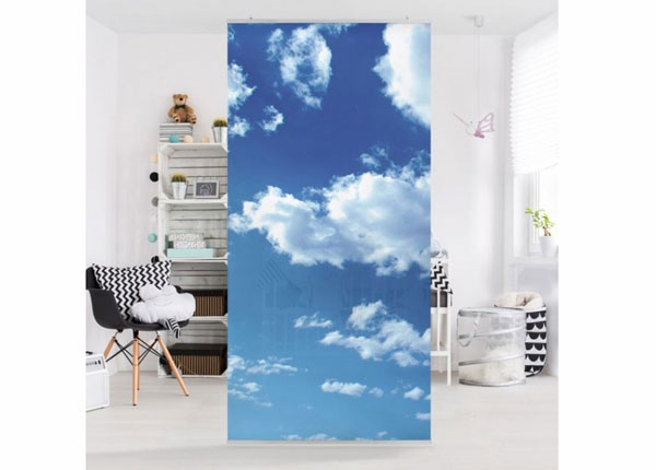 Paneelkardin Clouded Sky