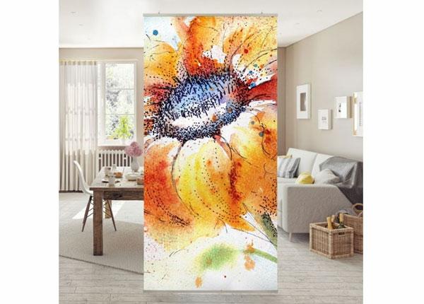 Paneelkardin Painted Sunflower
