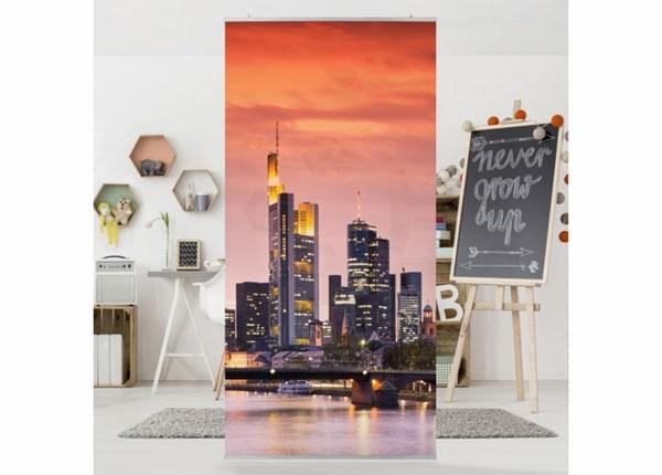 Paneelkardin Frankfurt skyline
